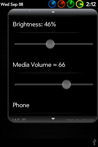 Device Menu Maxed Out Screenshot 1