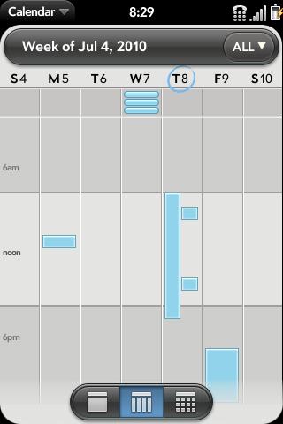 Full Day View Calendar Screenshot 1