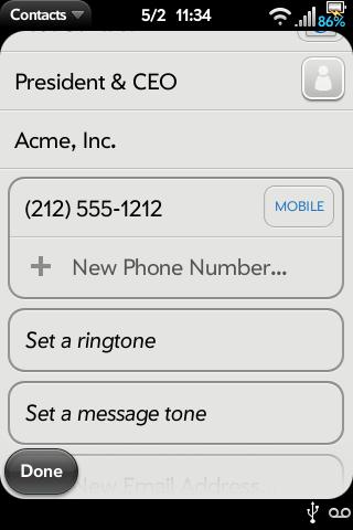 SMS Tone per Contact v2 Screenshot 0
