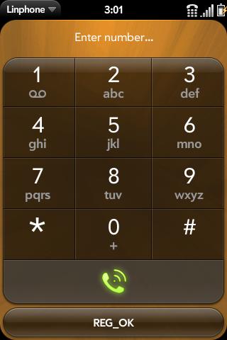 Application:Linphone - WebOS Internals