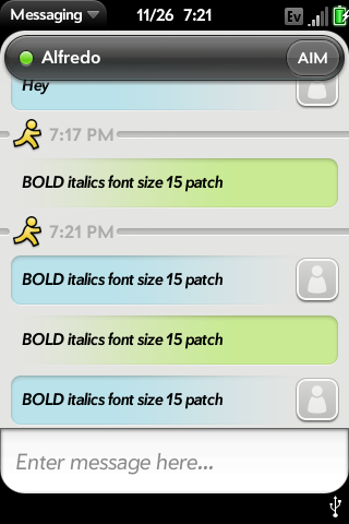 15px Font with Bold Italics Screenshot 0
