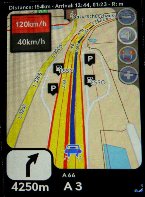Navit - Car navigation system Screenshot 1