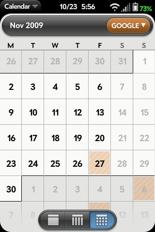 All-Day Events in Month View Screenshot 2