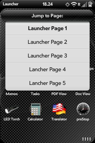 Advanced Configuration for App Launcher Screenshot 0