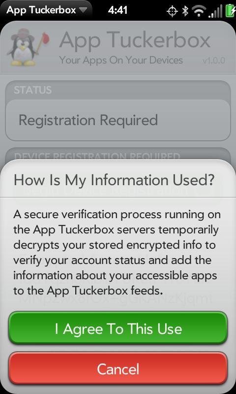 App Tuckerbox Screenshot 3