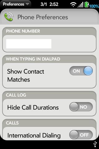 Call Duration in Call Log Screenshot 1