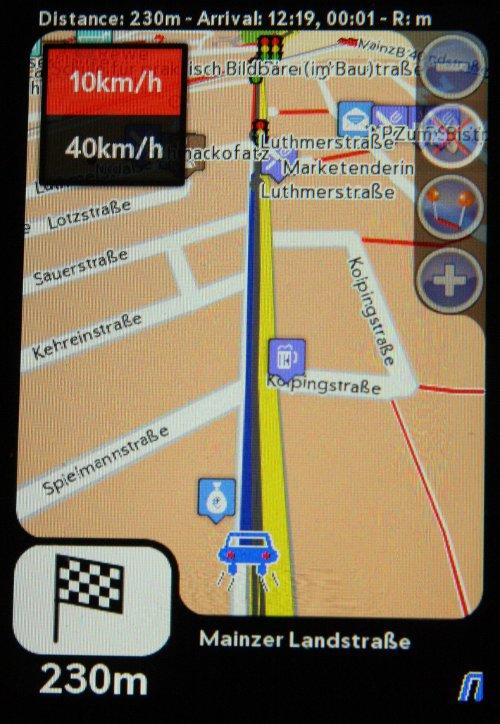 Navit - Car navigation system Screenshot 2