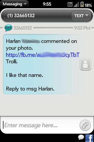 Enable Line Breaks In SMS Screenshot 0
