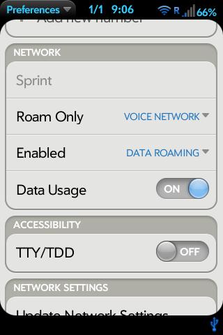 Add Roam Control to Prefs Screenshot 0