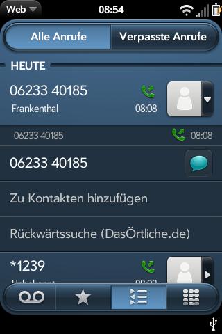 Reverse number lookup GERMAN Screenshot 0