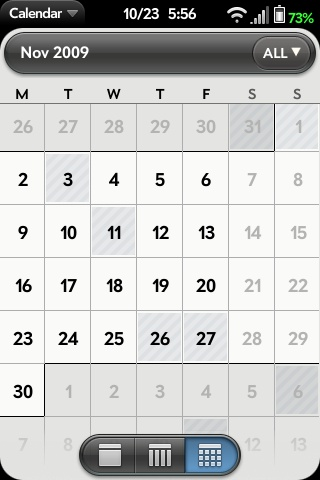 All-Day Events in Month View Screenshot 0