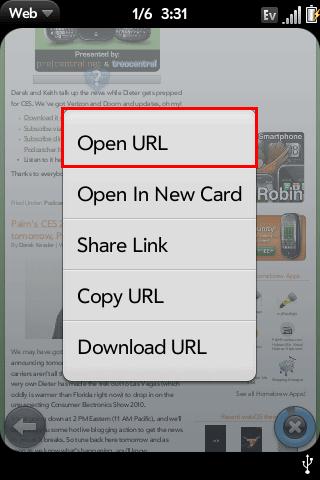 Add Open URL Menu Option Screenshot 0