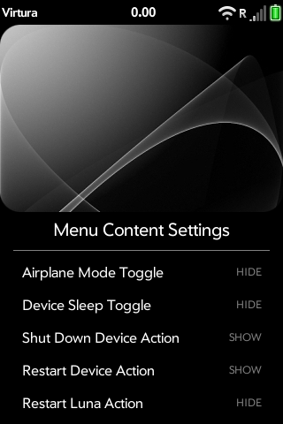 Advanced System Menus - Power Menu (ATT/VZW) Screenshot 1