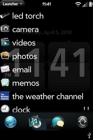 Lite List Launcher Screenshot 1