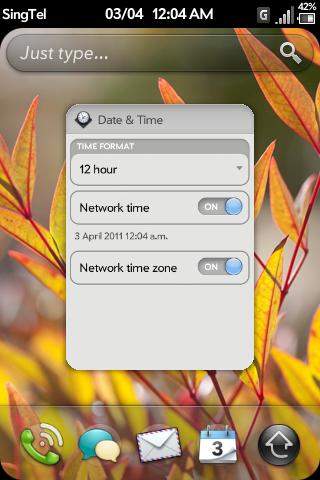 Date and AM-PM Indicator Screenshot 0