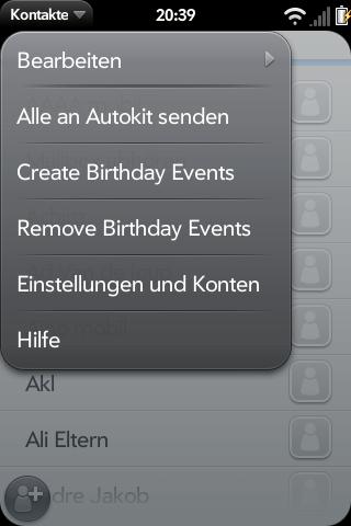 Create Birthday Events Screenshot 0