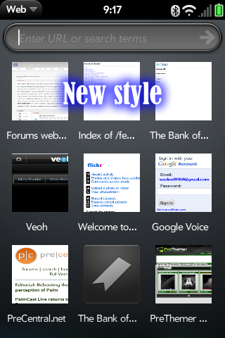 Smaller Bookmarks Icons Screenshot 1