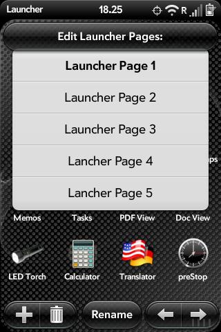 Advanced Configuration for App Launcher Screenshot 1