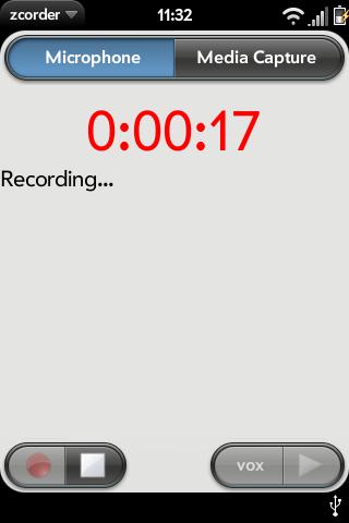 zcorder Screenshot 2