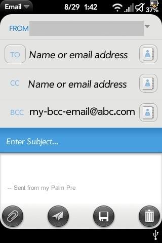 Auto Bcc Screenshot 0