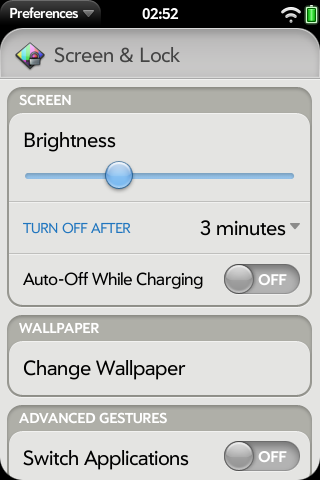 No Auto-Off While Charging Screenshot 0