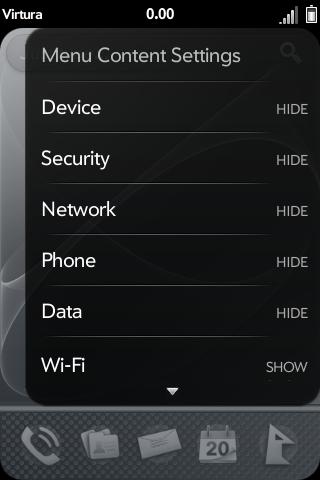 Advanced System Menus - Device Menu (ATT/VZW) Screenshot 1