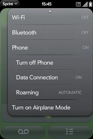 Advanced Phone Menu Screenshot 0