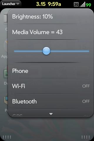 Device Menu Megamix with Media Vol Control Screenshot 0