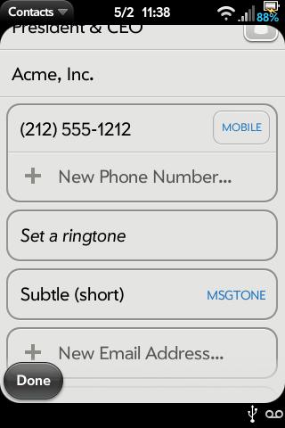 SMS Tone per Contact v2 Screenshot 2